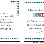 Valentine's Day Word Search & Bible Verse Printables