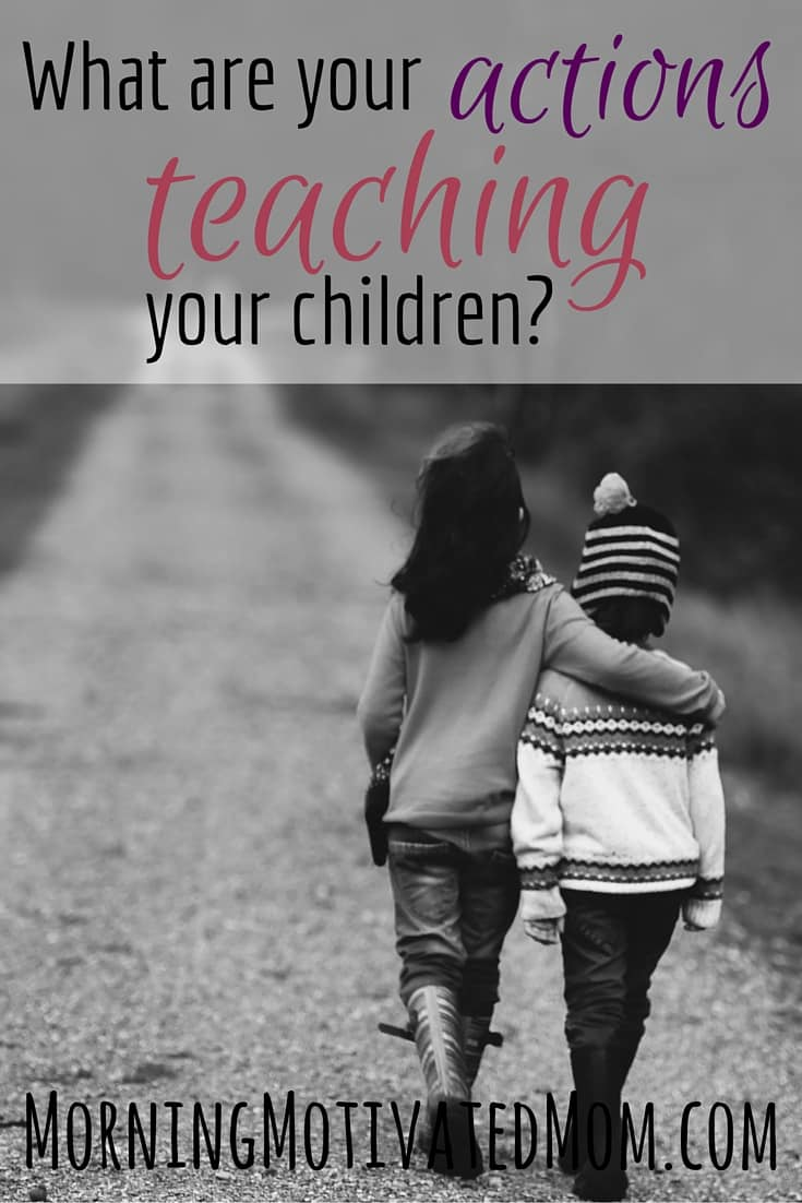 Teach Your Four Year Old To Read: What Are Your Actions Teaching Your Children?
