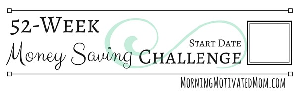 52 Week Money Saving Challenge Printables