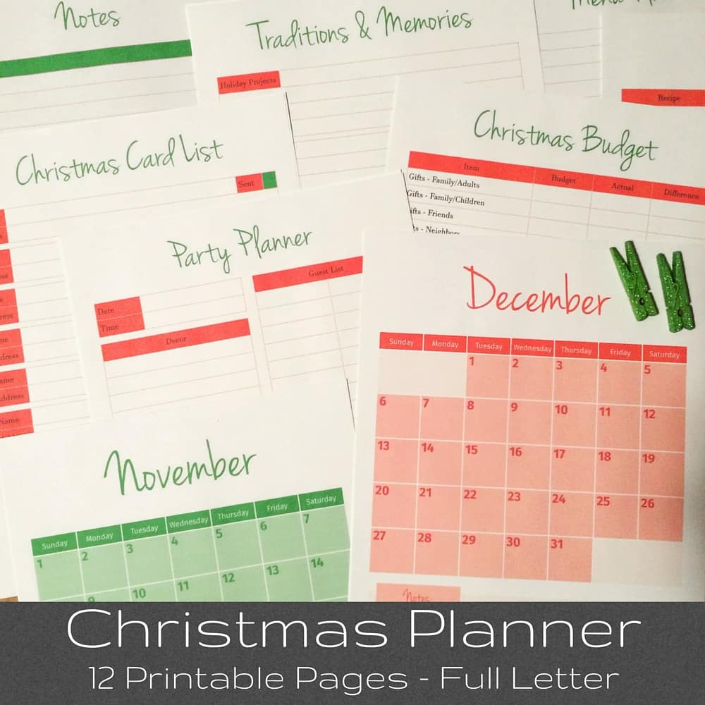 Tuesday Talk & Christmas Planner - Morning Motivated Mom