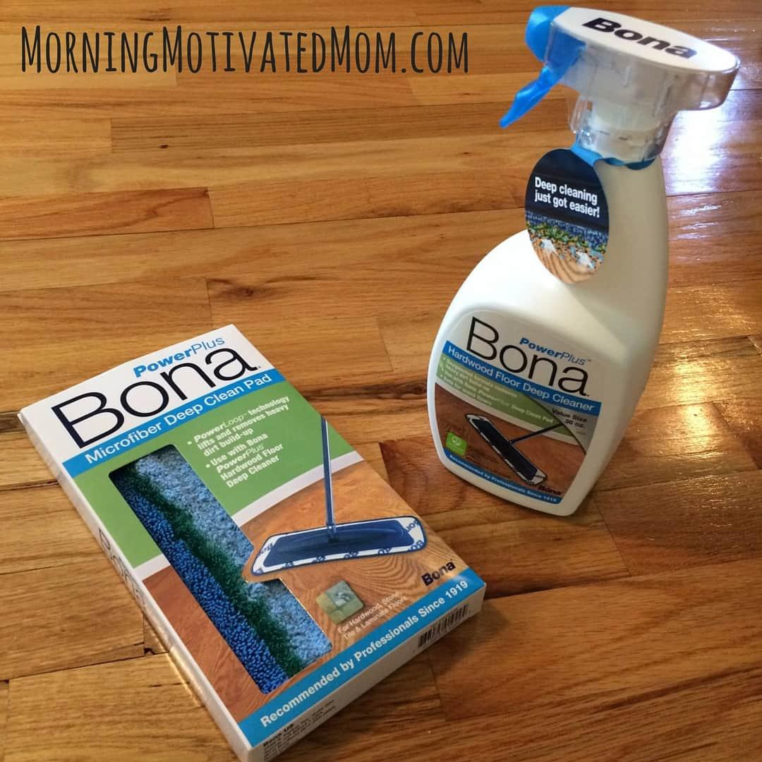 Bona powerplus hardwood floor deep cleaner 4 morning Deep clean wood floors