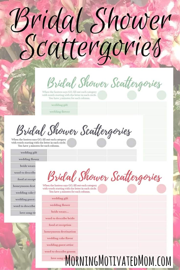 Free Printable Bridal Shower Gift List Wedding Invitation Sample