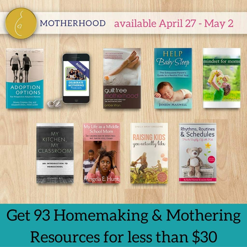 Get 93 Homemaking & Mothering Resources for less than $30 (3)