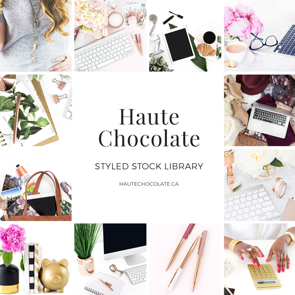 haute chocolate styled stock photos