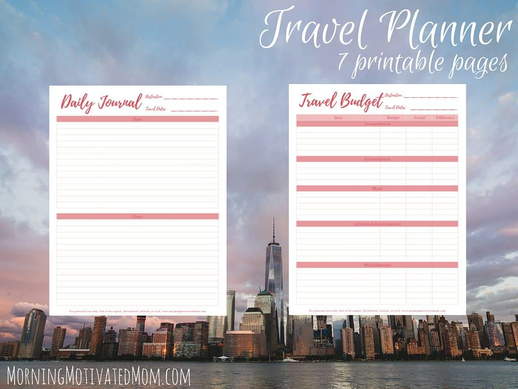 Travel Planner Printables (8)