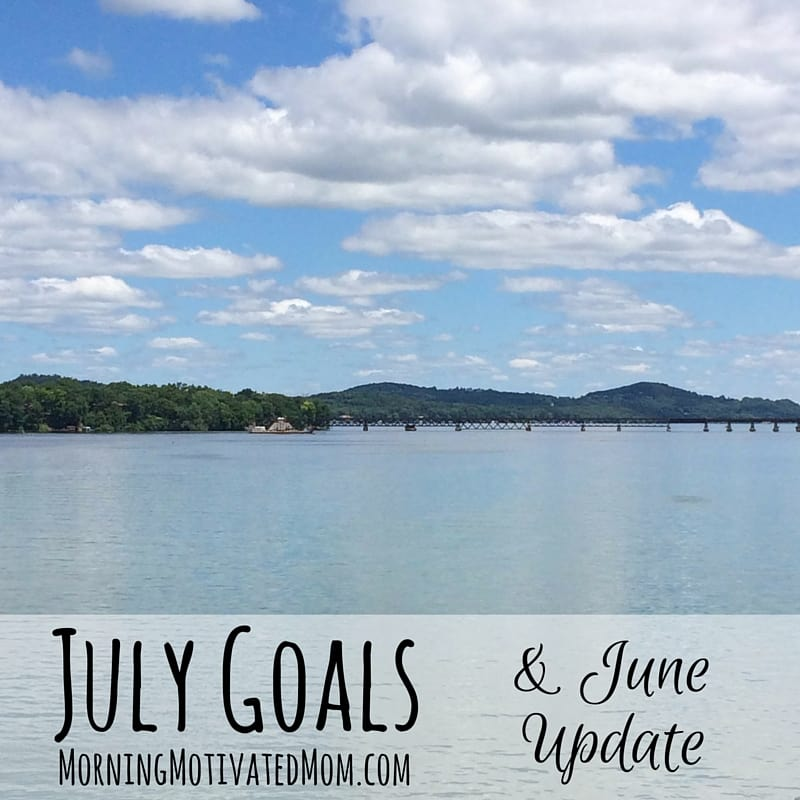 Monthly Goals - July