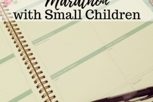 How to Train for a Marathon with Small Children