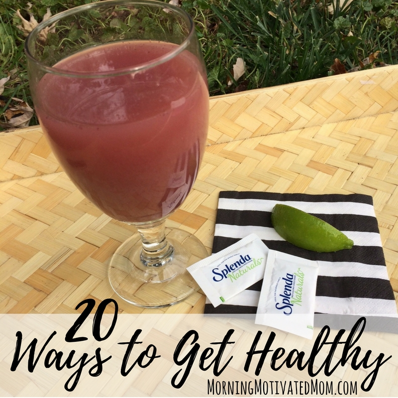 20 ways to get healthy