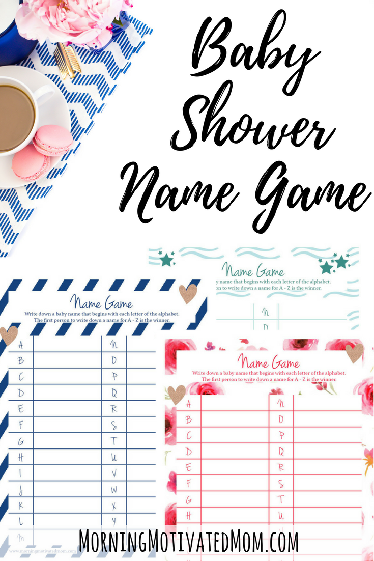 Uncategorized Printable Names.com baby shower name game printable morning motivated mom